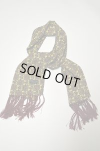 1960'S Vintage TOOTAL SCARF  Paisley MADE IN ENGLAND