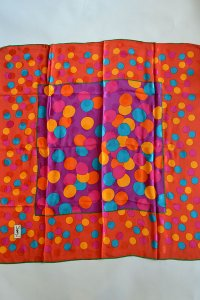 Dead Stock 80s Yves Saint Laurent Foulards ヴィンテージスカーフ Spots