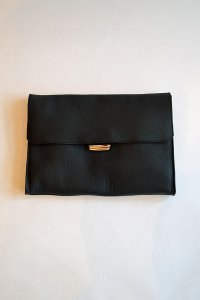 Charles et Charlus Leather Bag Pouch Metalique Made in France シャルル エ シャルリュス