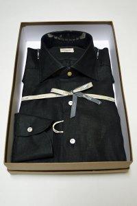 Ciriello チリエッロ リネンシャツ 黒