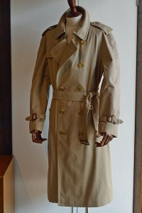 1980s Vintage Burberry Trench Coat ヴィンテージバーバリートレンチコート