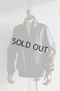 LE LYS Leather Jacket A2 ルリス こげ茶 Made in France