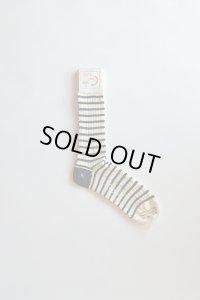 Corgi Mercerized Cotton Socks コーギー ボーダーソックス マーセライズドコットン