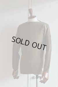 FILEUSE D'ARVOR BASQUE SHIRT Brest Made in France フィールズダルボー バスクシャツ ブレスト ヴィンテージリブ OLIVE