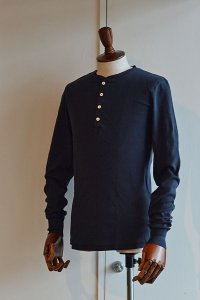 Schiesser Henley Neck Long Sleeve KARL HEINZ Blueblack シーサー