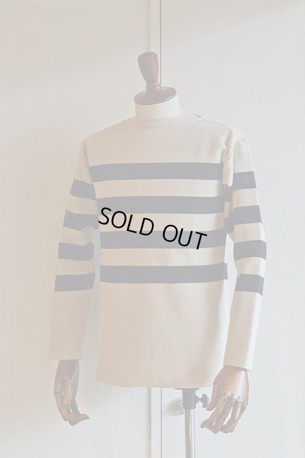 画像1: FILEUSE D'ARVOR BASQUE SHIRT Brest Made in France フィールズダルボー バスクシャツ ブレスト ヴィンテージリブ HAVERSACK ATTIRE別注
