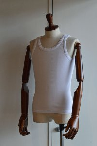 Schiesser Tank Top FRIEDRICH White シーサー タンクトップ 白