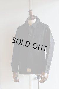 1930s〜40s デッドストックフレンチブラックモールスキンジャケット Vintage French Black Moleskin Jacket Dead Stock
