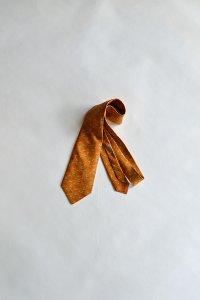 1970'S Vintage Hermes Silk Print Tie ヴィンテージエルメスネクタイ