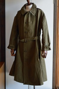 1940s デッドストック フレンチアーミー モーターサイクルコート Vintage French Military Motorcycle Coat Dead Stock