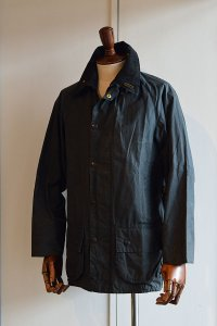 1980s ヴィンテージバブアービューフォート 2ワラント オイルドジャケット ネイビー 34 Vintage Barbour Beaufort 2Warrant Oiled Jacket Navy