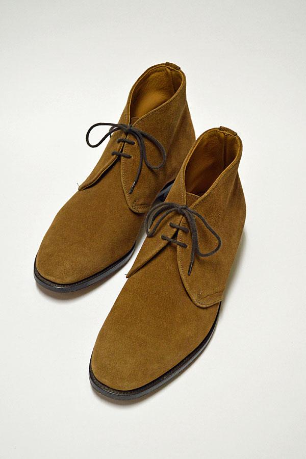 画像1: Tricker's Chukka Boots 英国王室御用達 トリッカーズ チャッカブーツ タバコスエード