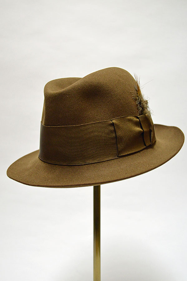 画像1: Vintage 1950'S〜1960'S JAMES LOCK & HATTERS Made in England フェルトハット 7  EXCLUSIVELY MADE FOR Brooks Brothers
