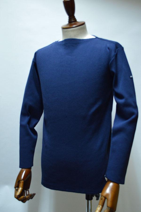 画像1: FILEUSE D'ARVOR BASQUE SHIRT Brest Made in France フィールズダルボー バスクシャツ ブレスト ヴィンテージリブ MARINE (NAVY)