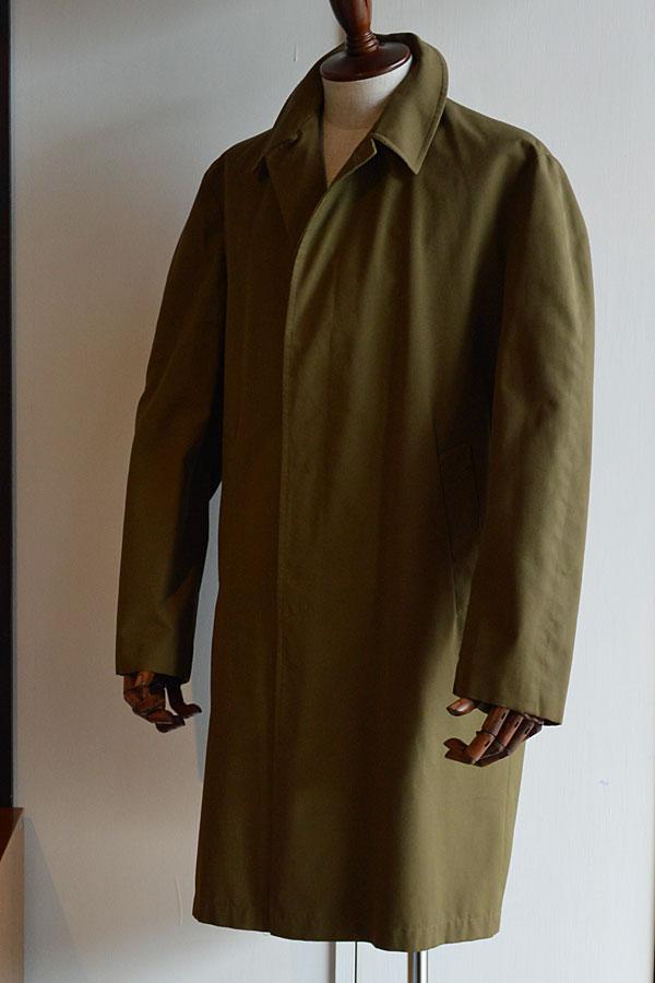 画像1: 1970s〜80s Vintage BARACUTA Balmacaan Coat Made in England バラクータステンカラーコート 英国製