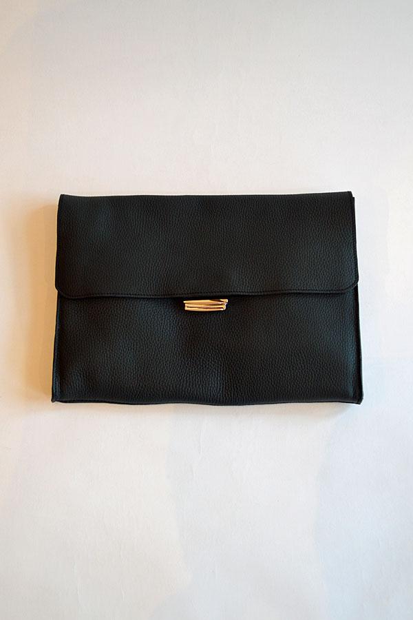 画像1: Charles et Charlus Leather Bag Pouch Metalique Made in France シャルル エ シャルリュス