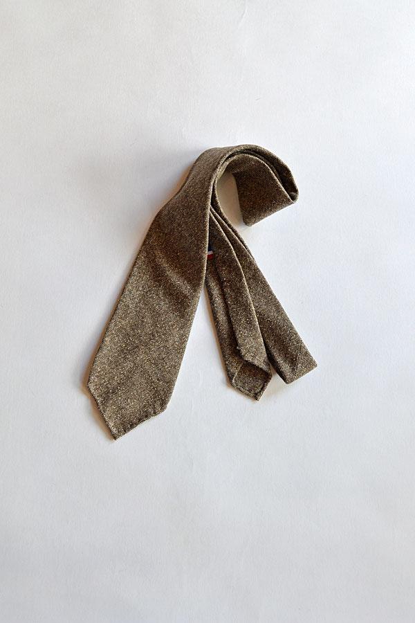 画像1: Maison Chato Lufsen ネクタイ Vintage Fabric
