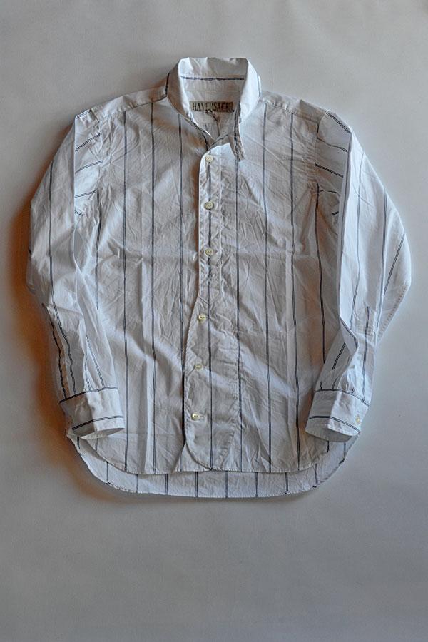 画像1: HAVERSACK ハバーザック マリーンカラーシャツ 綿100%