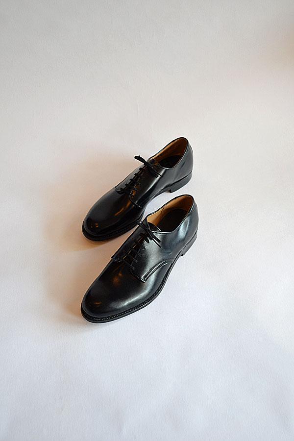 画像1: 1970'S デッドストック ネイビーラストサービスシューズ Dead Stock U.S.NAVY Service shoes Navy Last