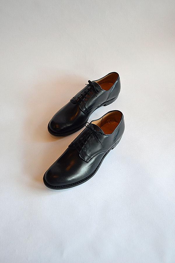 画像1: 1970'S〜80'S デッドストック ネイビーラストサービスシューズ Dead Stock U.S.NAVY Service shoes Navy Last
