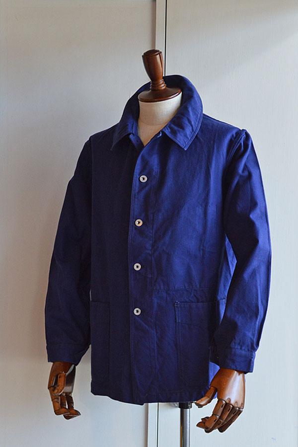 画像1: 1940s〜50s ヴィンテージフレンチアーミーワークジャケット フレンチツイル Vintage French Army Work Jacket
