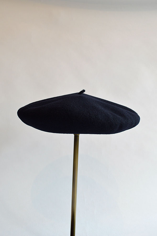 画像1: ジェームスロックアンドハッターズ ベレー帽 紺 フランス製 JAMES LOCK & HATTERS Navy Made in France