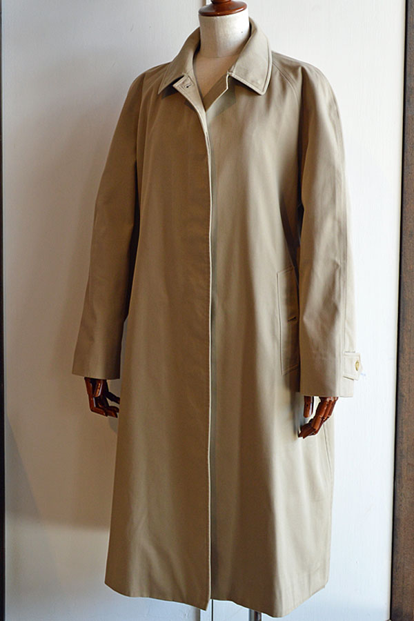 画像1: 1984s Vintage Burberry Balmacaan Coat Women's ヴィンテージバーバリーステンカラーコート ウィメンズ